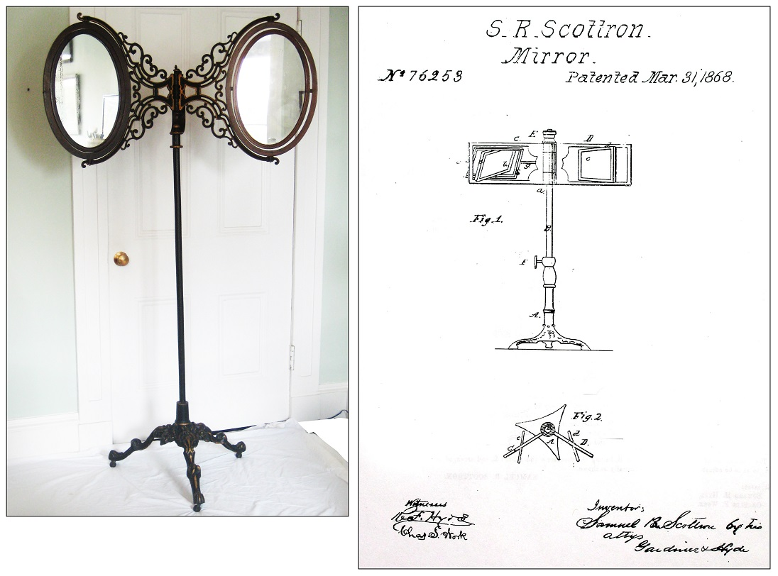 The inventor of curtain poles poles direct blog for Miroir invention