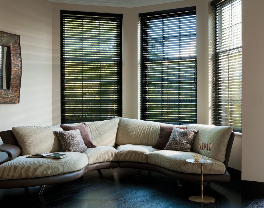 Modern Room with 50mm blinds