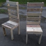 Pallet High Back Chair
